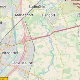 Karte Münsterland.Freifunk Münster Domäne Münster Ost